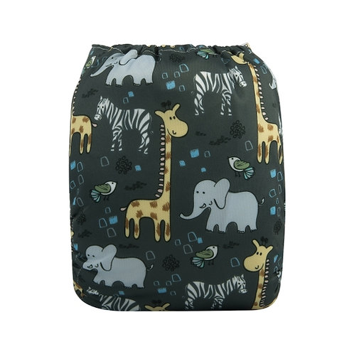 ALVA OS Pocket Diaper - Zoo