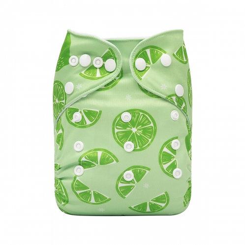 ALVA OS Pocket Diaper - Lime