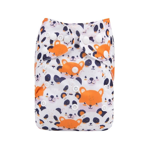 ALVA OS Pocket Diaper - Cute Animals