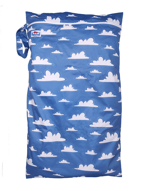 Babyland Large Wet Bag - Clouds
