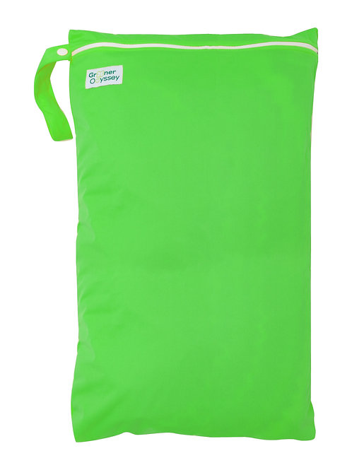 Greener Odyssey Large Wet Bag - Lime