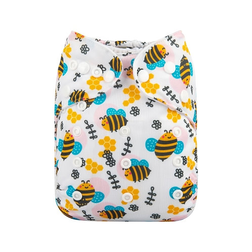 ALVA OS Pocket Diaper - Buzzing Bees
