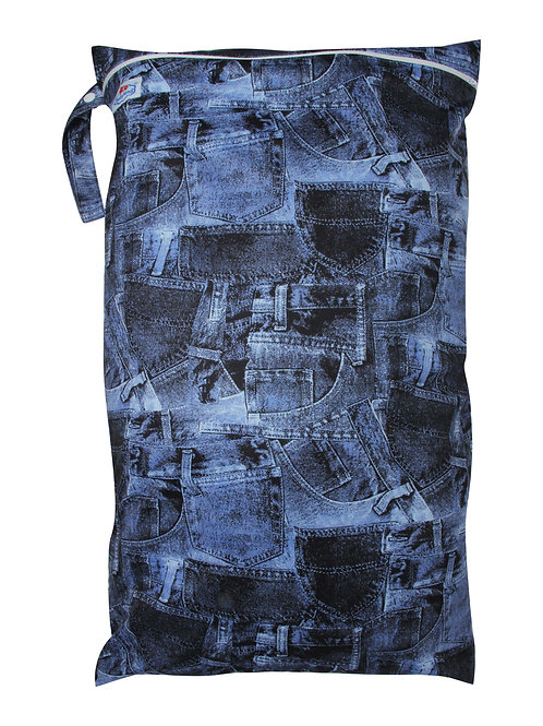 Babyland Large Wet Bag - Denim