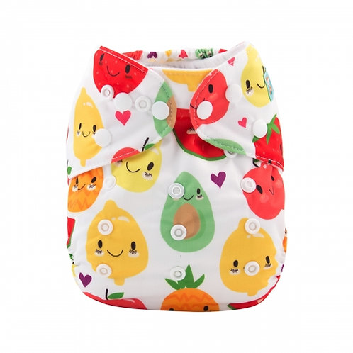 ALVA OS Pocket Diaper - Happy Fruits