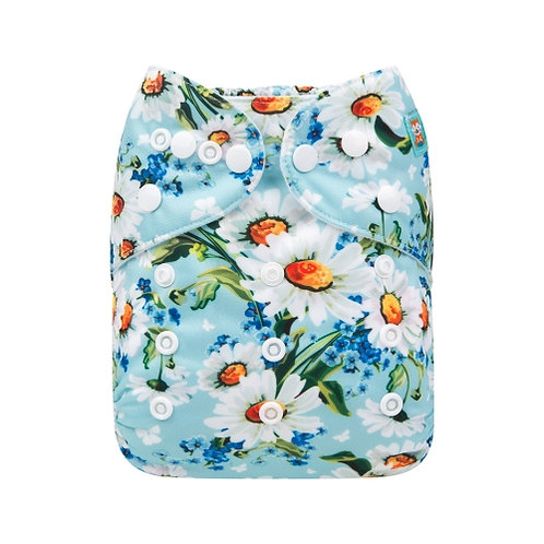 ALVA OS Pocket Diaper - Daisies