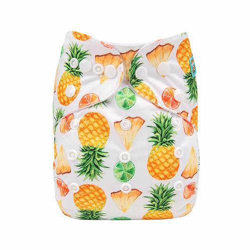 ALVA OS Pocket Diaper - Pineapple Slices