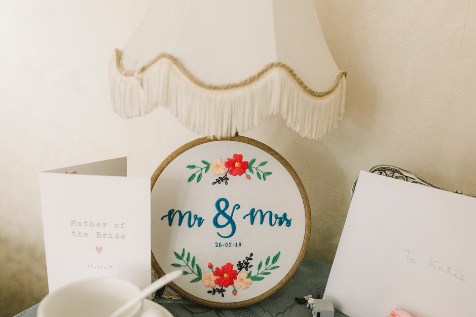 cross stitch mr and mrs diy wedding