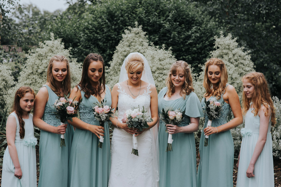 pastel bridesmaids huddersfeild ukranian club