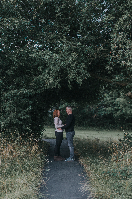 oakwell hall engagement shoot