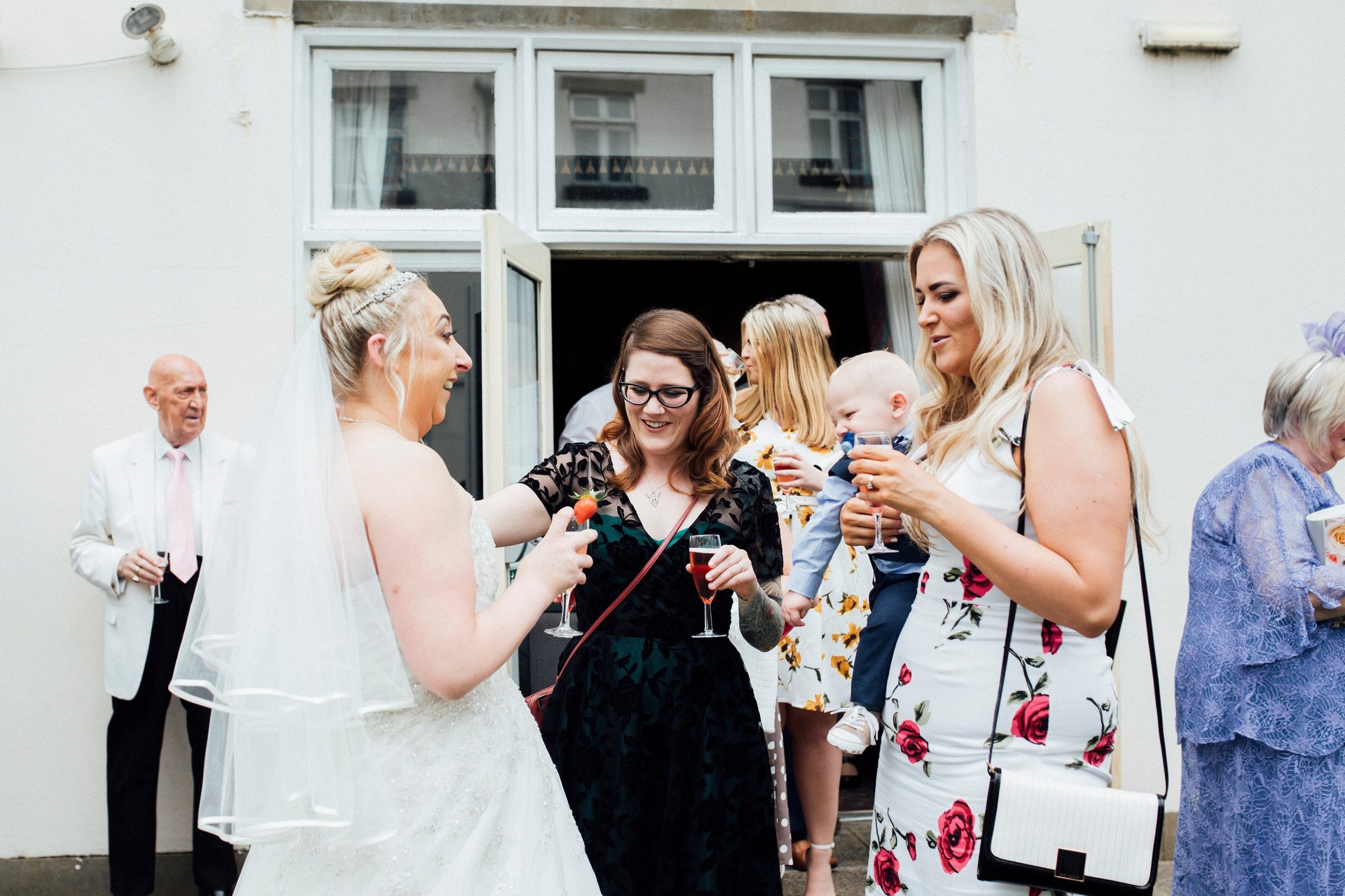 Dunkenhalgh Hotel wedding photographer
