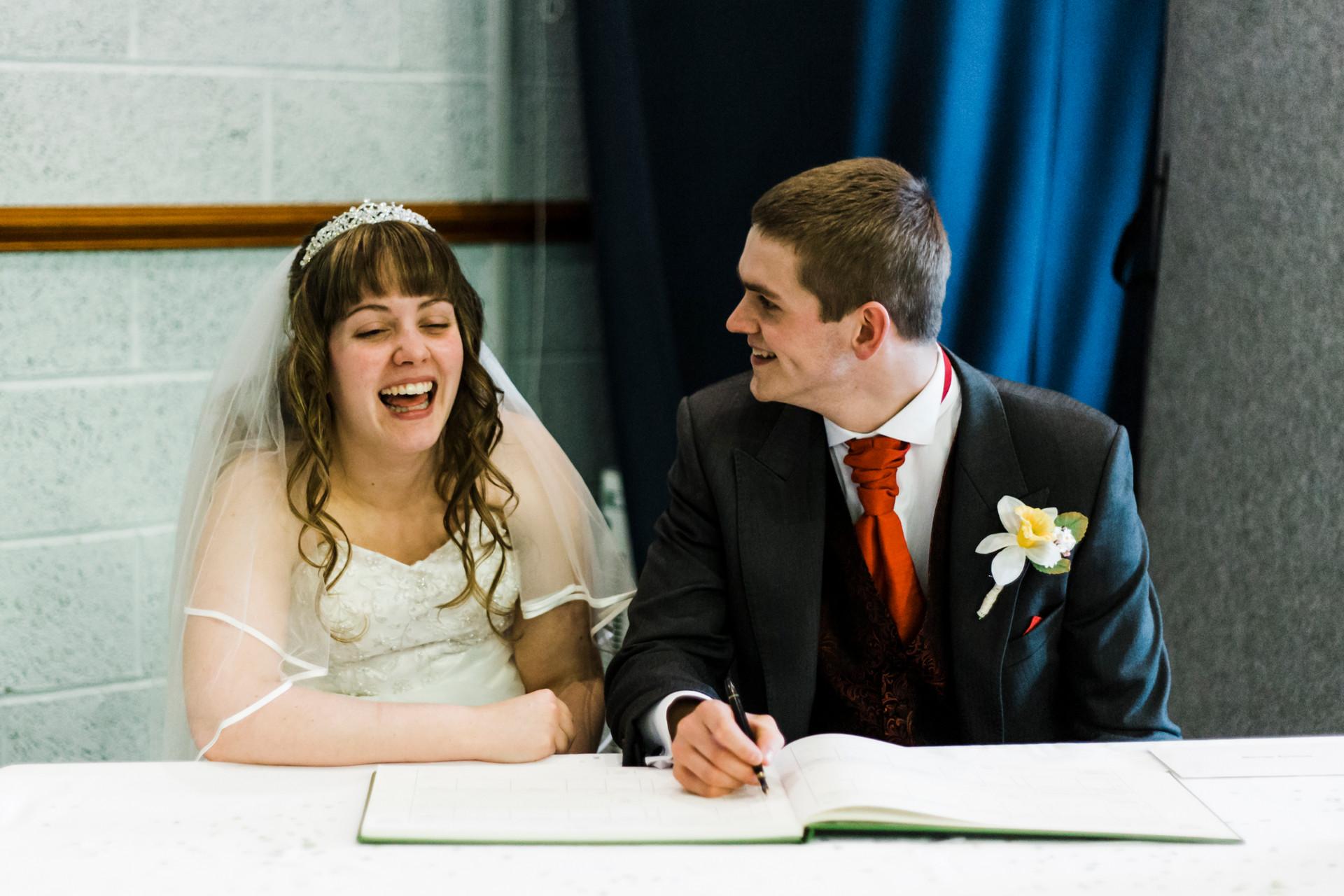 christian wedding service