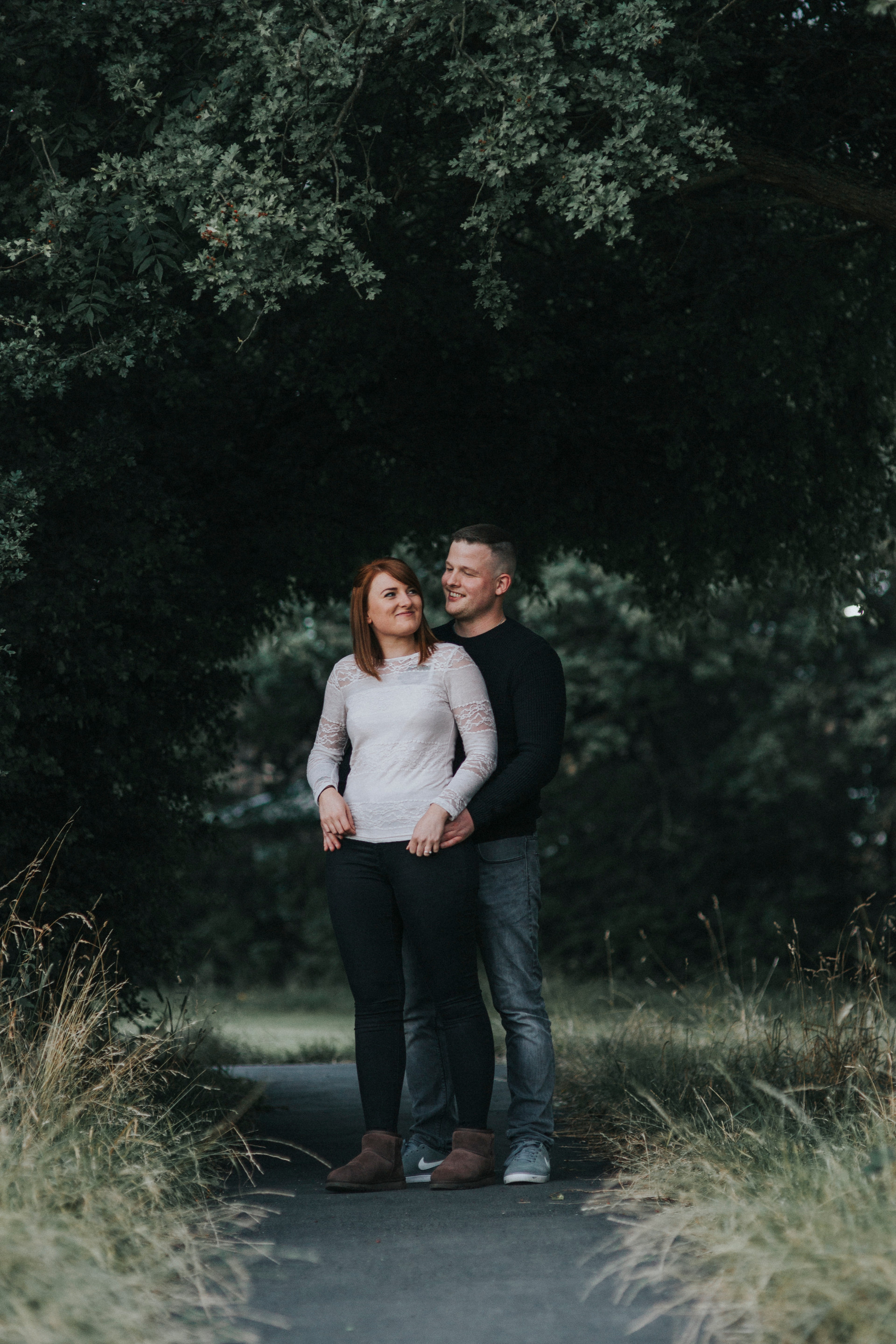 oakwell hall country park engagement shoot