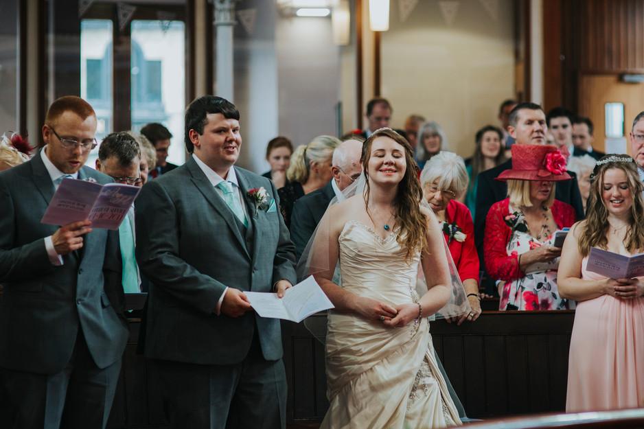 female wedding photographer in north east leeds