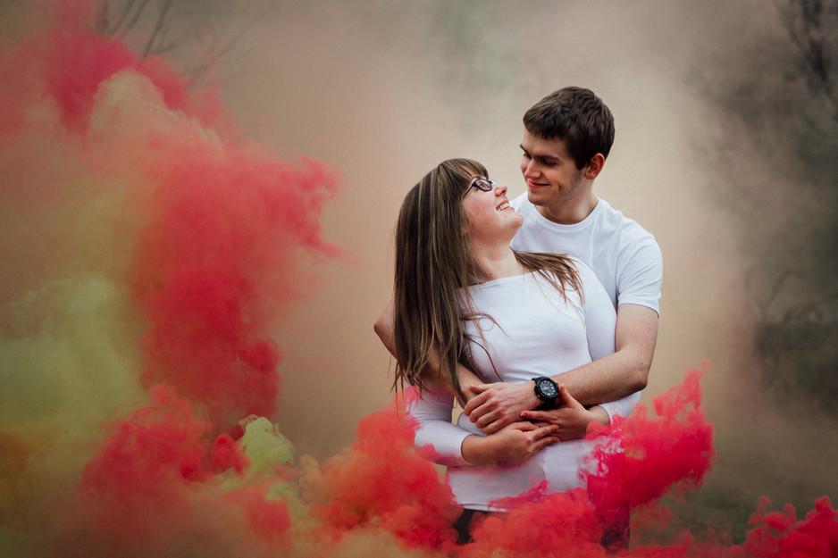 smoke grenade engagement shoot