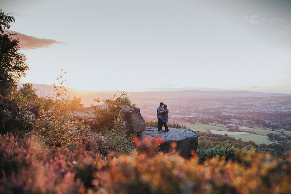 photoshoot countryside otley