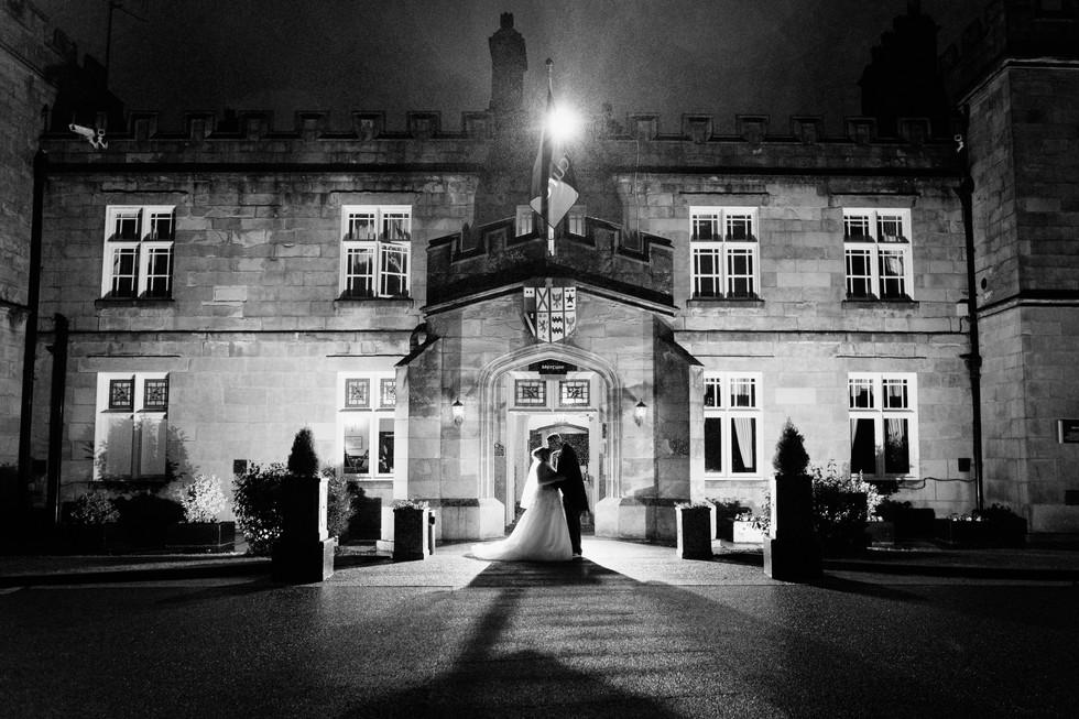 wedding photographer Dunkenhalgh Hotel