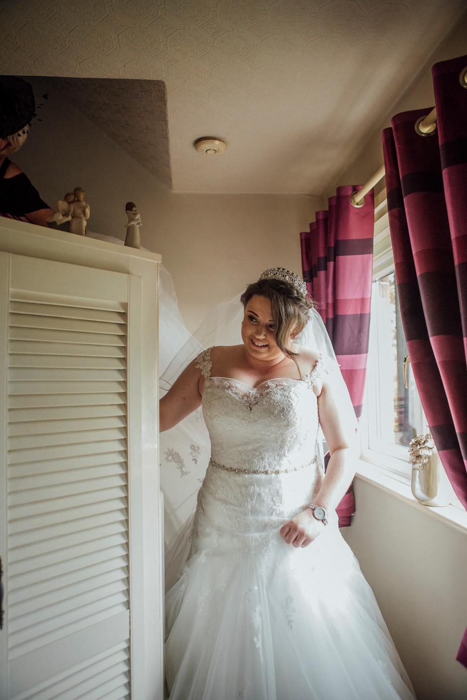 bride wedding photography fenay bridge