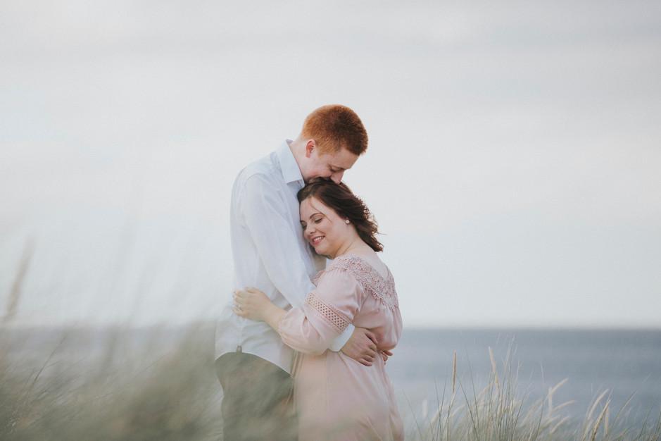 sand dune wedding photography whitby