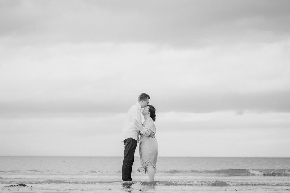 wedding photography whitby beach