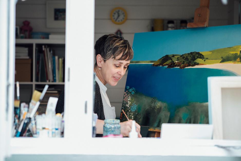 artist headshot in yorkshire