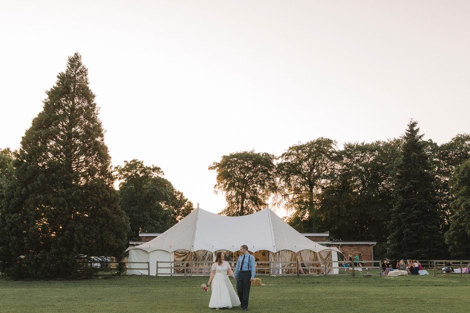 DIY village wedding in cheshire