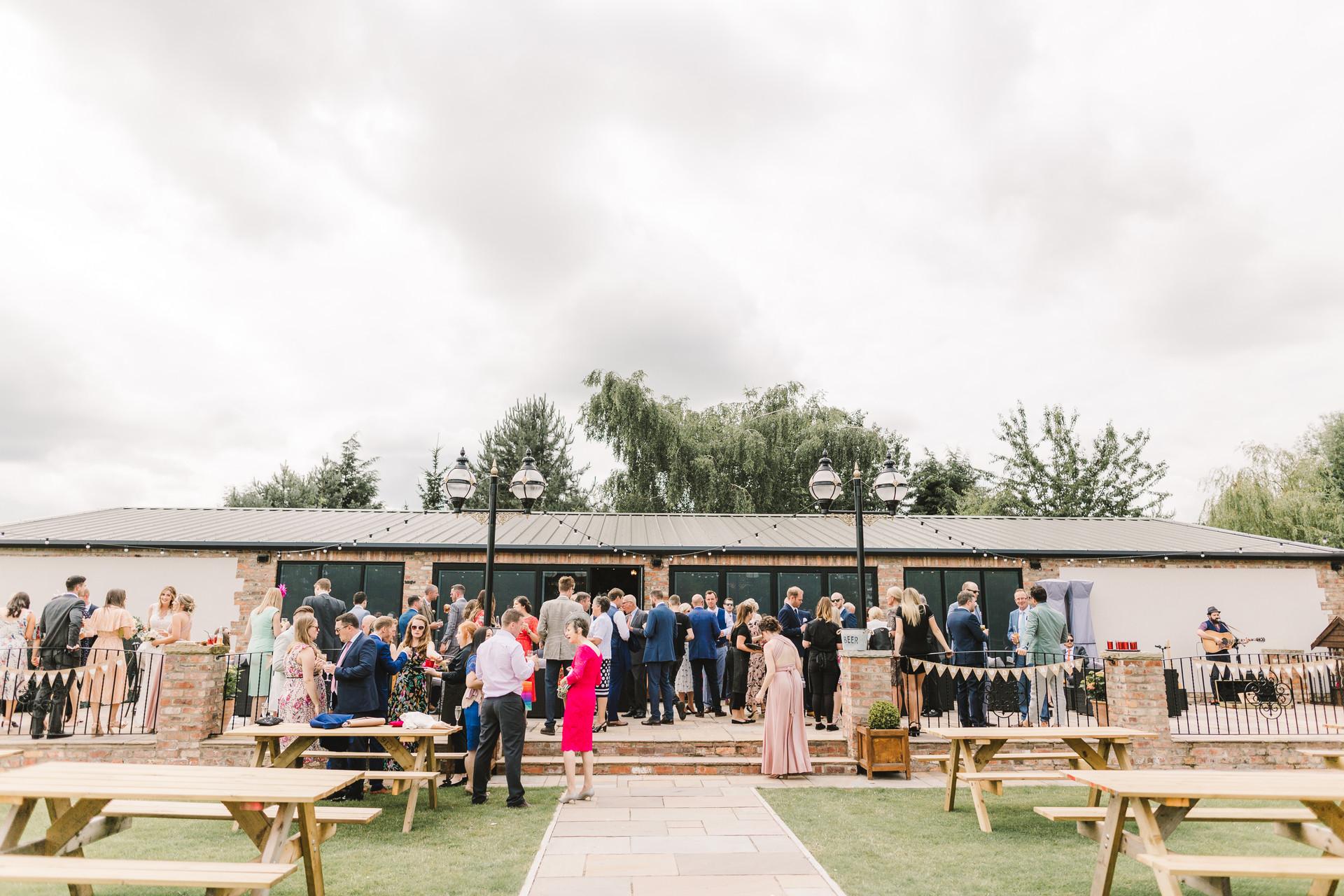 villa farm york wedding