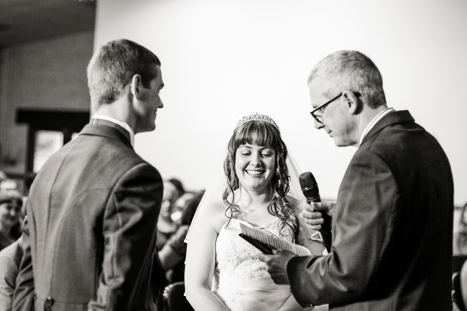 modern christian wedding