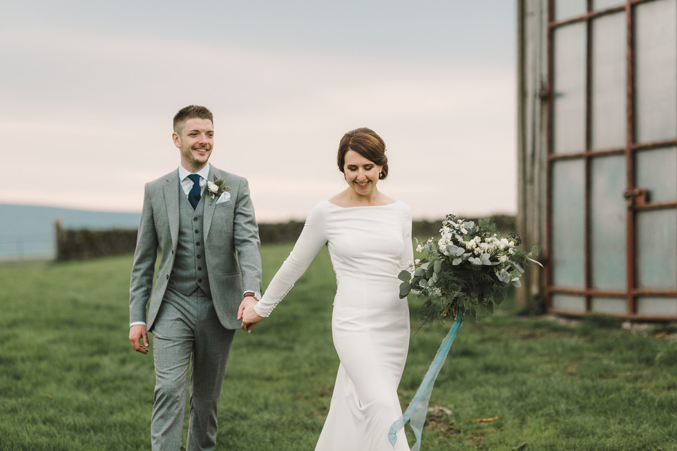 wedding at laneshaw bridge
