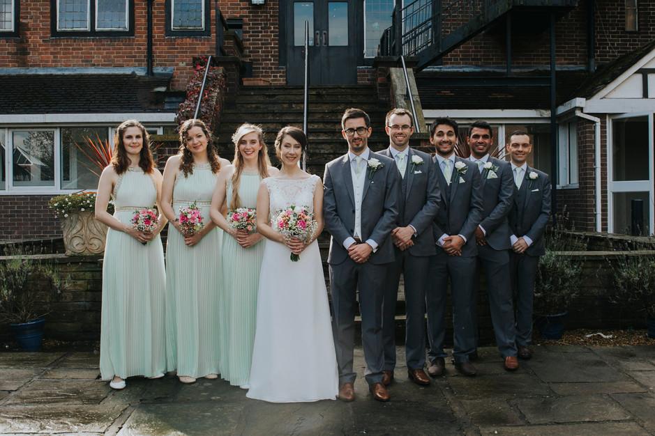 leeds mercure hotel wedding photographer