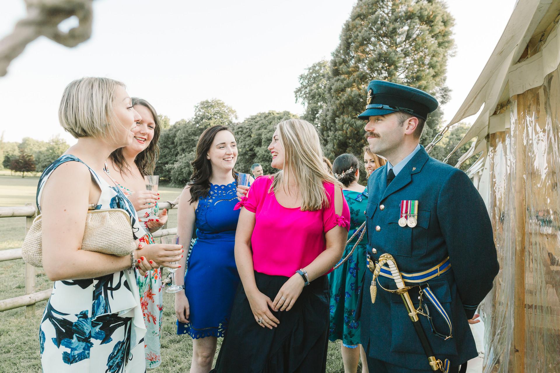 military groom in lymm
