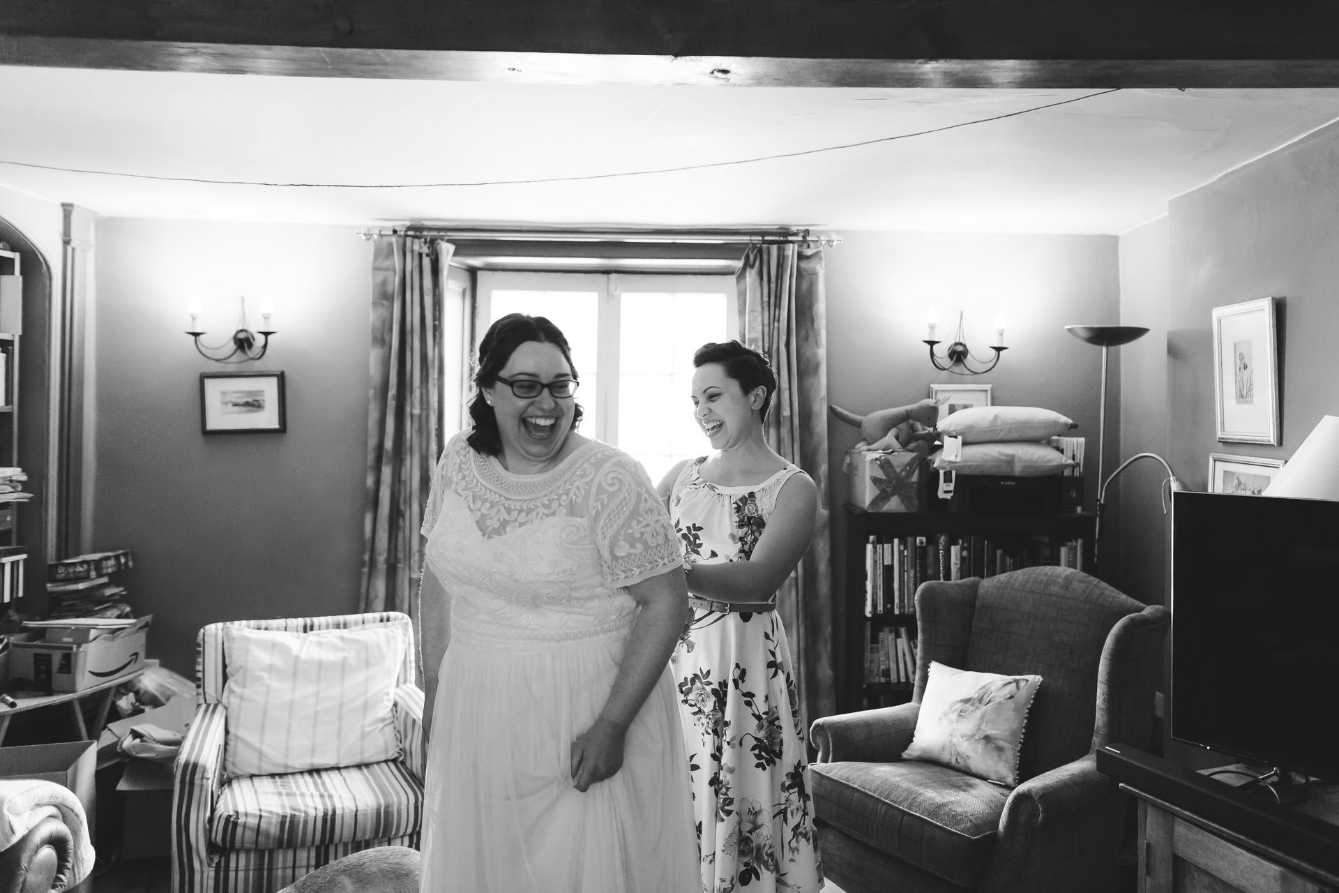 wedding in llangollen