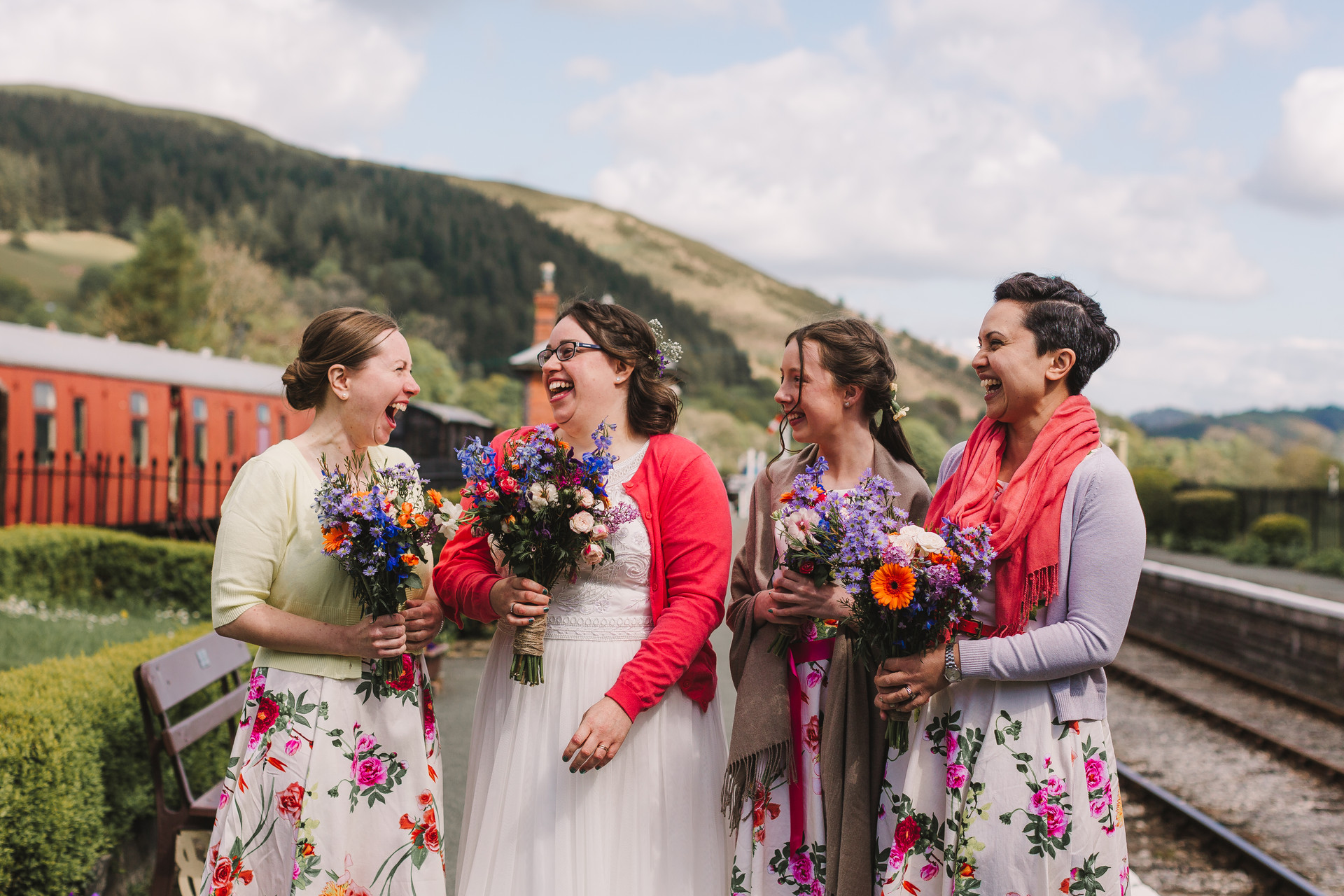 llangollen train wedding