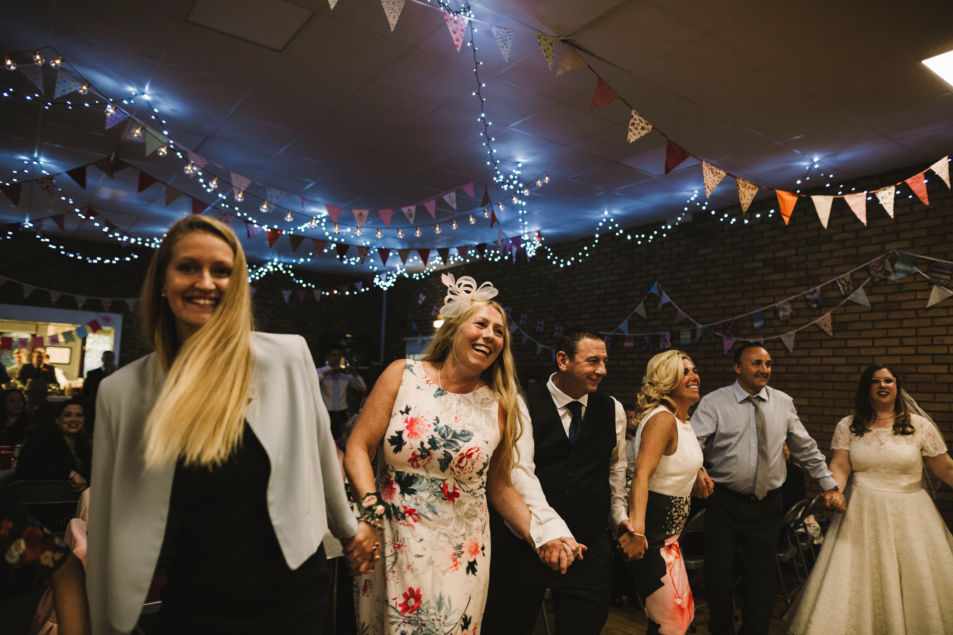 dancing at village wedding