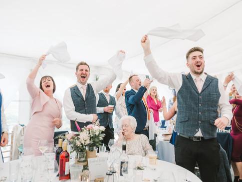 huddersfield marquee wedding