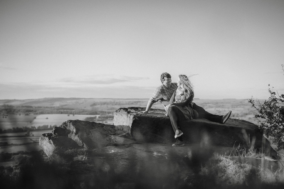 Otley chevin engagement photography