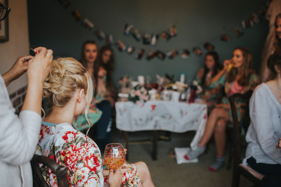 wedding photography with floral theme