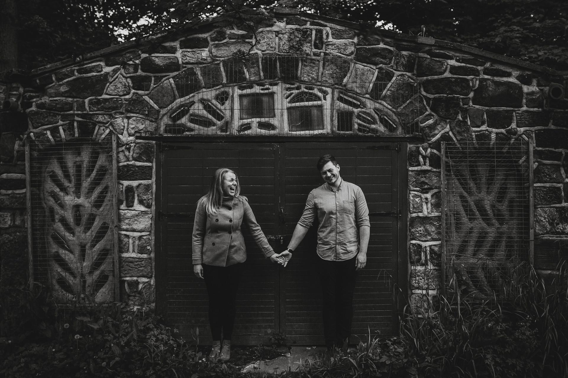 creative wedding photographer in middleton leeds
