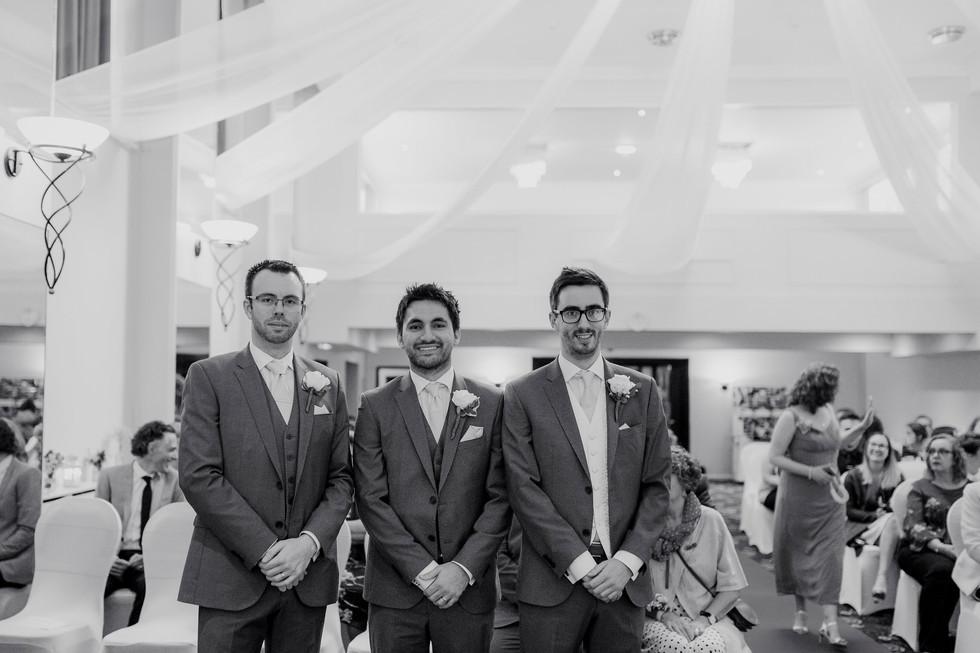 leeds parkway hotel wedding photography
