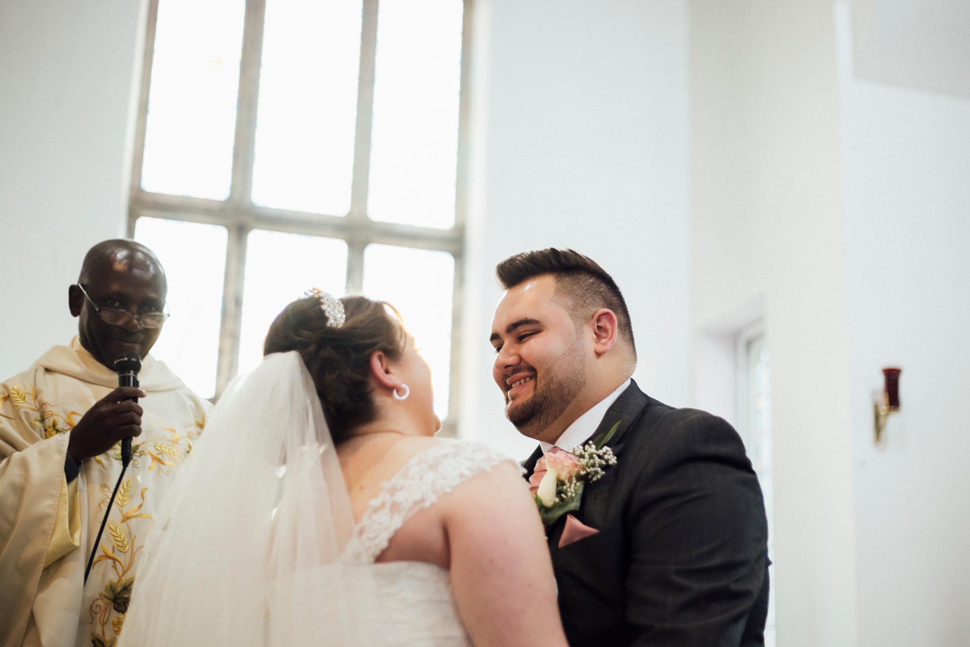 st josephs church aspley wedding