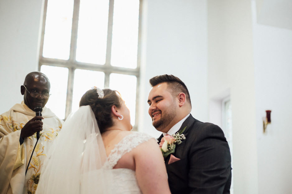 st josephs church aspley wedding