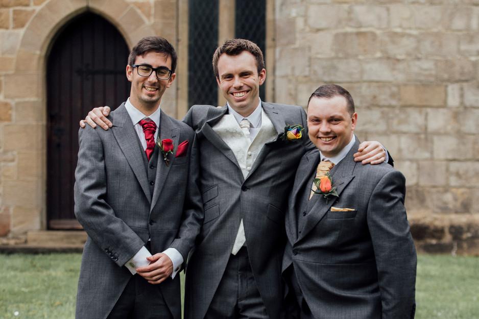 St Andrew's skegby wedding photography