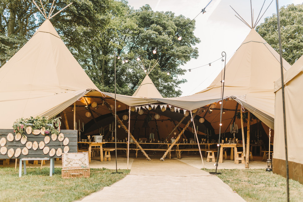 Papakata Tipi in Timble Leeds