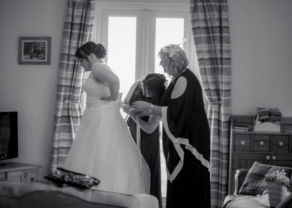 wedding photography shottle hall derbyshire