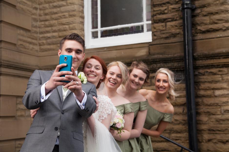 wedding photography selfy lindley