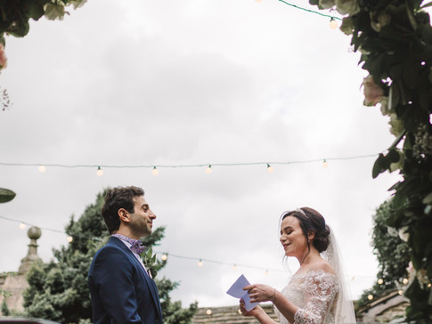outdoor wedding ceremony huddersfield