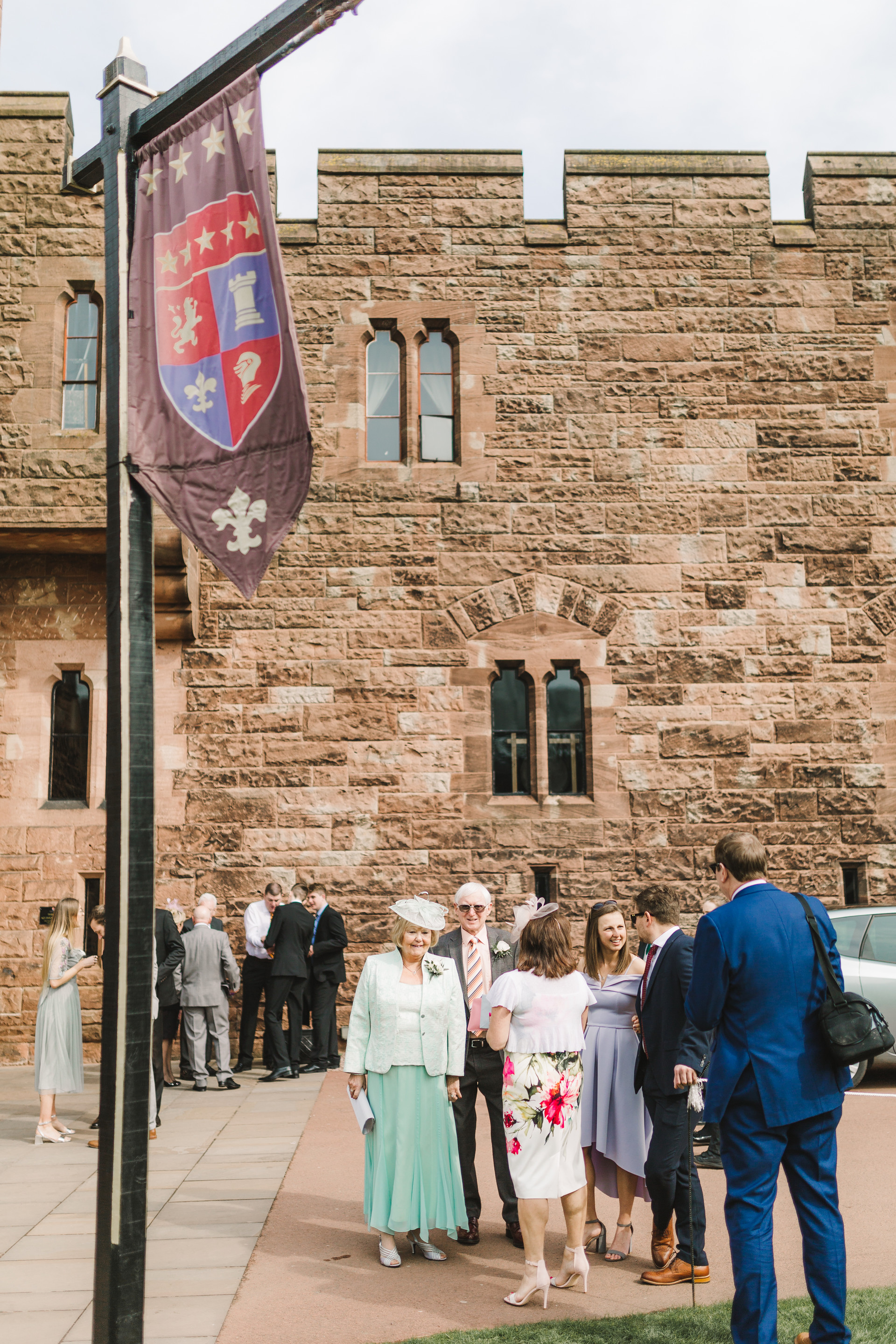 Peckforton Castle wedding day photos