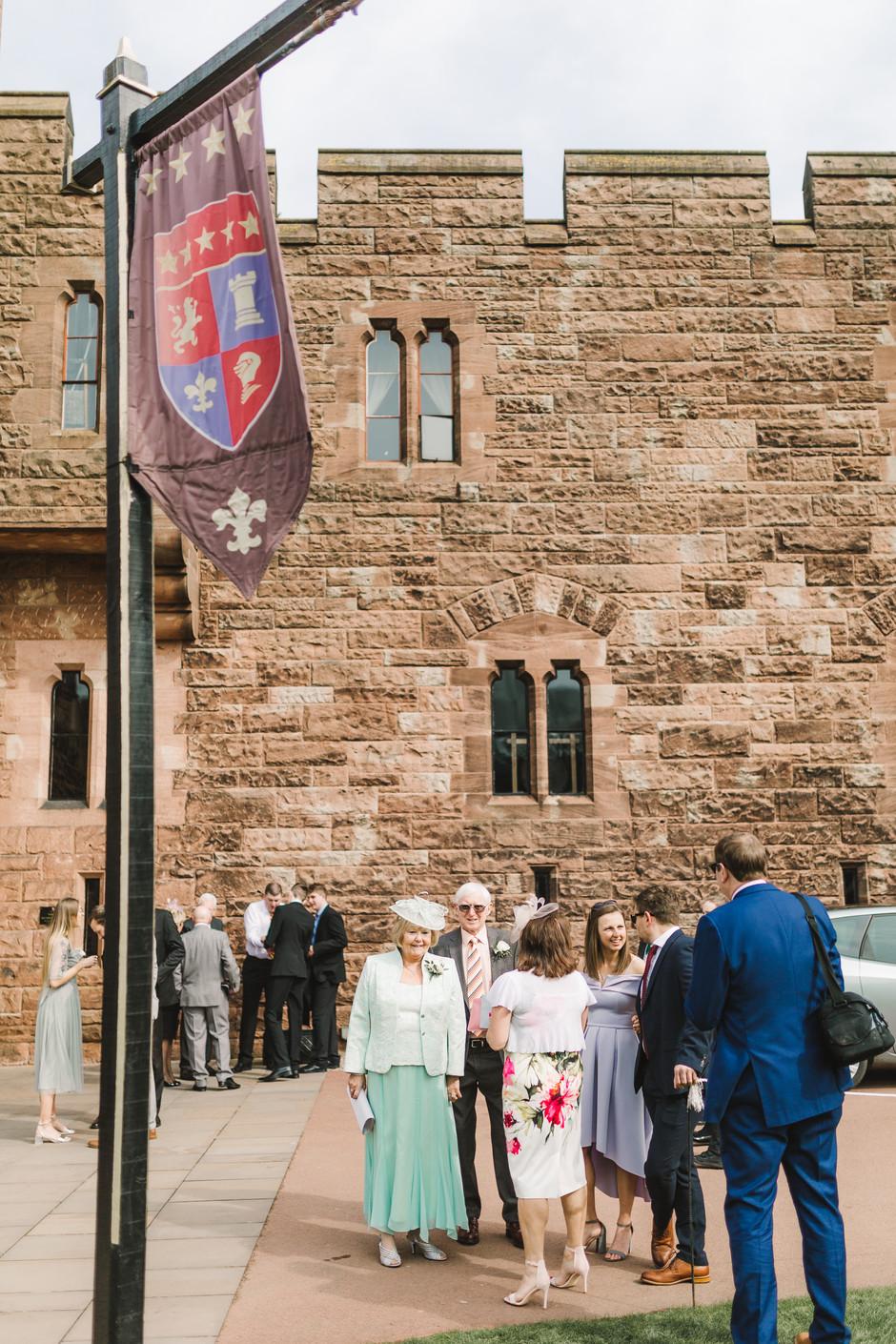 Peckforton Castle wedding day photos