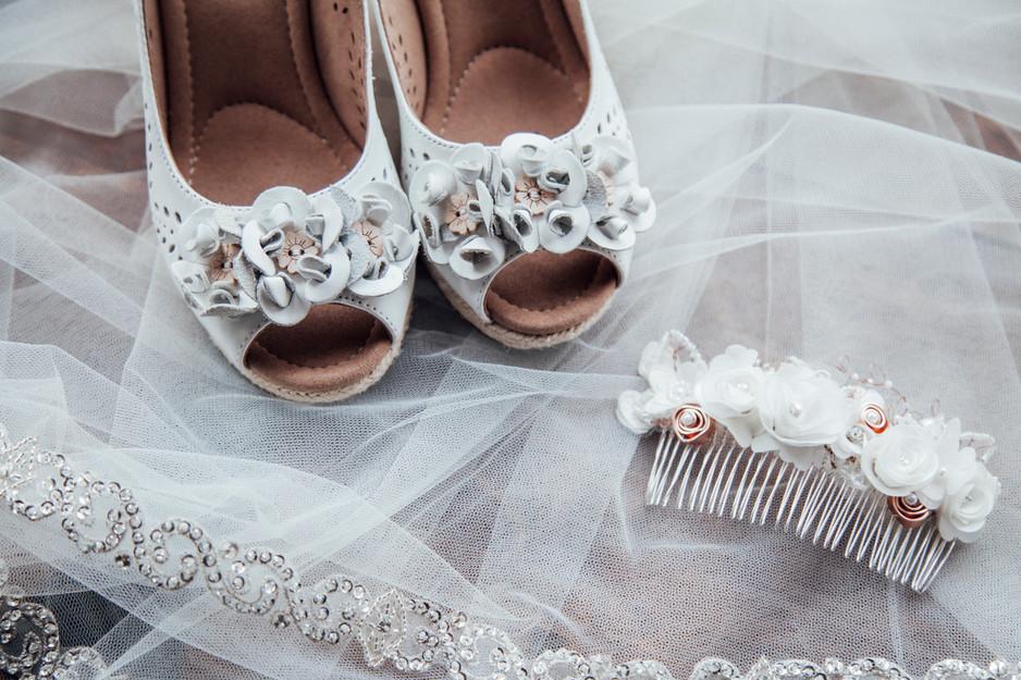 homemade craft wedding