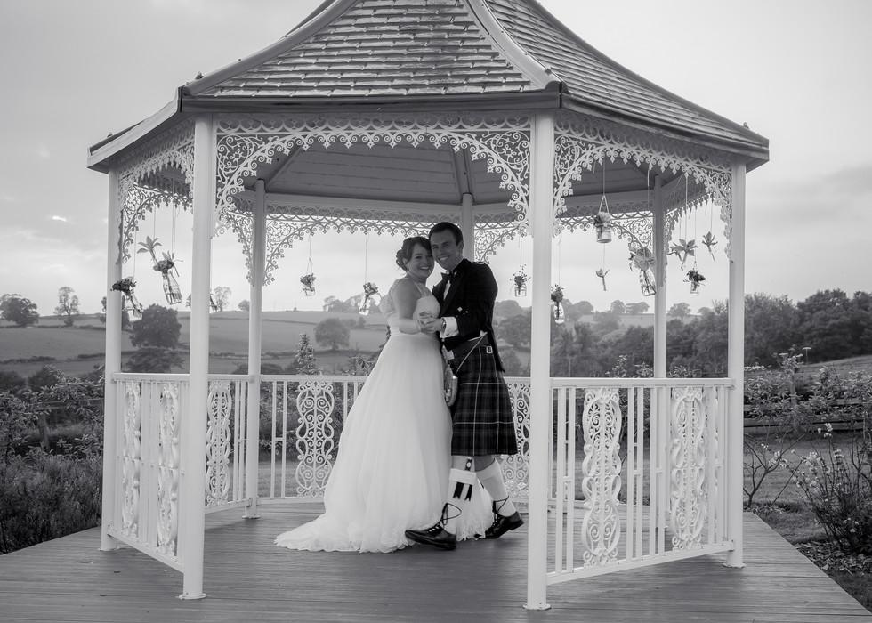 the bandstand shottle hall derbyshire