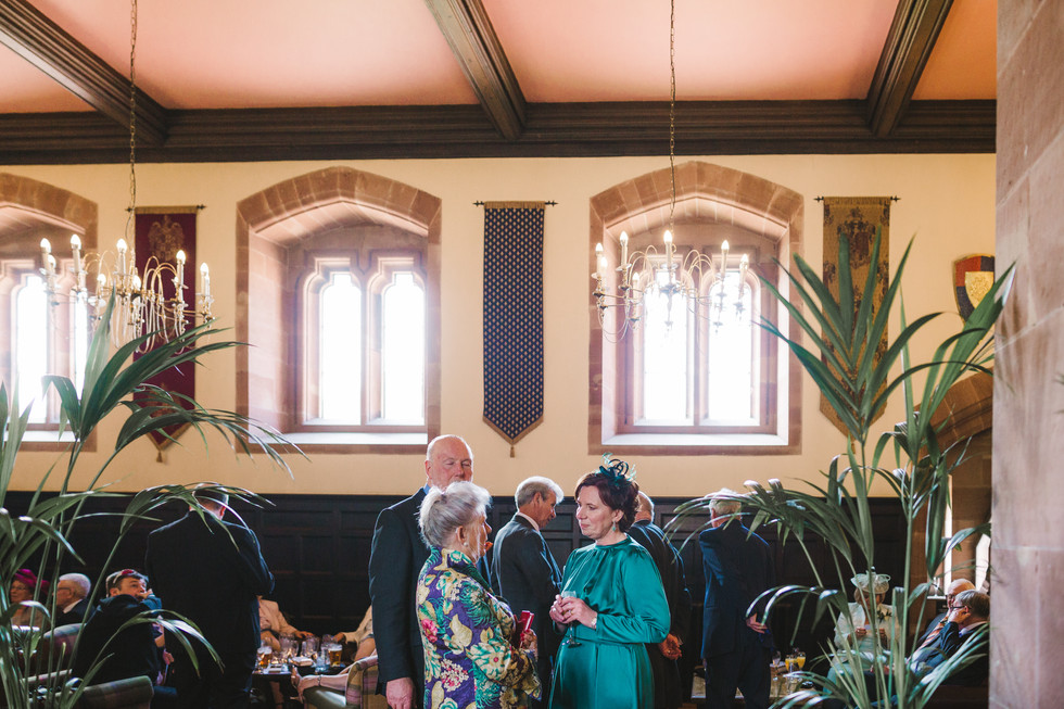 Peckforton Castle drinks reception